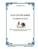 Luận văn: Nâng cao chất lượng tín dụng đối với hộ sản xuất tại NHNo&PTNT Chi nhánh TP Hà Tĩnh