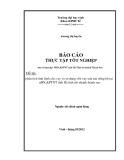 Luận văn: Phân tích tình hình cho vay và sử dụng vốn vay của các nông hộ tại nHNo&PTNT tỉnh Hà tĩnh chi nhánh thành sen