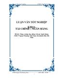 Luận văn: Tăng cường huy động vốn tại Ngân hàng TMCP Ngoại Thương Việt Nam chi nhánh Bắc Hà Tĩnh