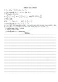 Đề kiểm tra 1 tiết Toán 6 - Số học