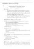 Đề thi vị trí tín dụng vào  BIDV (8/8/2010)
