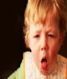 Điều trị khi trẻ mắc chứng ho