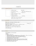 Mẫu đơn xin việc bằng tiếng anh - ERP Developer