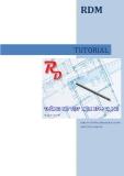 Hướng dẫn sử dụng phần mềm RDM - Phần mềm thống kê thép và tối ưu cắt thép