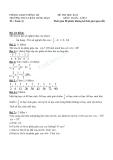 Tổng hợp đề kiểm tra học kì II môn Toán học lớp 6 năm học 2013 - Trường THCS Trần Hưng Đạo