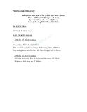 Đề kiểm tra HK1 môn Mỹ thuật lớp 9 (2012 - 2013)