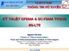 KỸ THUẬT OFDMA & SC-FDMA TRONG 4G-LTE