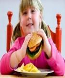 Nguyên nhân trẻ béo phì, cách phòng và điều trị