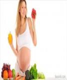 Dinh dưỡng các tháng dành cho bà bầu