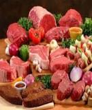 Dinh dưỡng cho người tập thể hình có sức khỏe