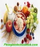 Phần ăn đầy dinh dưỡng dành cho người tập thể hình