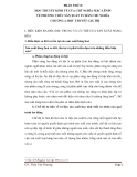 Phần thứ 2 : Học thuyết kinh tế của chủ nghĩa mác-lênin về phương thức sản xuất tư bản chủ nghĩa