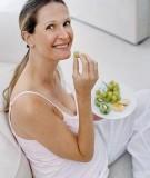 Để không bị tăng cân quá nhiều khi mang thai
