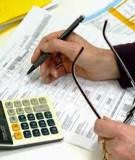 Báo cáo Phân tích tài chính : ý nghĩa và phương pháp