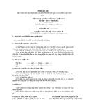 Biên bản nghiệm thu lắp đặt tinh thiết bị công trình