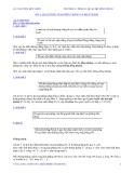 Bài 1: Đại cương về đường thẳng và mặt phẳng
