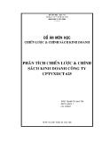 Đồ án Phân tích chiến lược và chính sách kinh doanh công ty CPTVXDCT 625