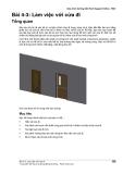 Giáo trình Revit Architecture 2011 BÀI 4-3