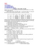 Đề kiểm tra 45 phút môn Tin học về soạn thảo văn bản