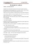 Ôn thi học kỳ 1 hóa 10