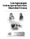 Language Interpretation Guidelines