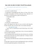 Quy trình cho thuê tài chính 3 bên của VietcomBank