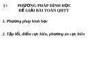 Phương pháp hình học để giải bài toán quy hoạch tuyến tính 2016