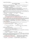 Đề thi thử tốt nghiệp môn hóa học - Đề 03 -Trường THPT Phan Đăng Lưu