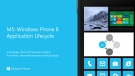 M5: Windows Phone 8 Application Lifecycle