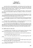 Chương 13 : LLý thuyết thiết bị sấy