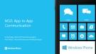 M10: App to App Communication