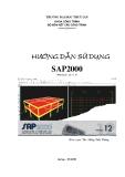 Hướng dẫn sử dụng SAP2000 (Version 12.0.0)