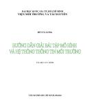 Hướng dẫn giải bài tập mô hình và hệ thống thông tin môi trường