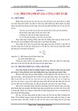 Giáo trình Công nghệ chế tạo máy - Chương 5: Các phương pháp gia công chuẩn bị