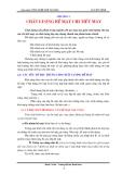 Giáo trình Công nghệ chế tạo máy - Chương 2: Chất lượng bề mặt chi tiết máy