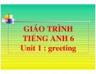 Bài giảng Tiếng Anh 6 unit 1: Greetings