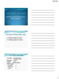 Bài giảng Hệ thống thông tin kế toán - Kế toán excel - Phần 1