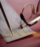 Bài tập ôn tập môn kiểm toán tài chính