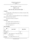 Giáo án bài Nhà yêu nước Nguyễn Trung Trực - Tiếng việt 5 - GV.N.Thơ Văn