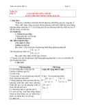 Giải hệ phương trình bằng phương pháp cộng đại số - Giáo án Toán lớp 9 chương 3 bài 4
