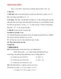 Giáo án môn toán lớp 9 – Đại số bài 2: căn thức bậc hai và hằng đẳng thức