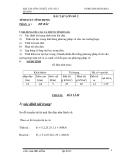 Bài tập lớn cơ học kết cấu 2 - Ths.Trần Đại