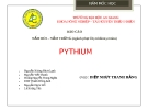 Báo cáo nấm roi - nấm trứng (ngành phụ Chytridiomycotina)
