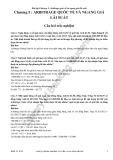 Bài tập chương 5 môn Tài chính quốc tế