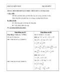 Giáo án biến đổi đơn giản biểu thức chứa căn bậc hai chương trình toán lớp 9