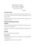 Giáo án Ngữ văn 12 tuần 22 bài : Bắt sấu rừng U Minh Hạ