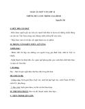 Giáo án Ngữ văn 12 tuần 23 bài: Những đứa con trong gia đình - Nguyễn Thi