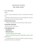 Giáo án ngữ văn lớp 12: Thực hành về hàm ý