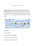 Vẽ đồ thị trong PowerPoint