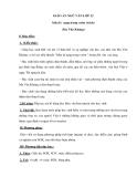 Giáo án ngữ văn lớp 12: Mùa lá rụng trong vườn - Ma Văn Kháng